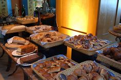 Mexican bread buffet by Glenda Alexandra Suarez, via Flickr