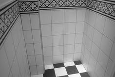 Kerion neocim blanc pur & lave & classic noir B 20x20 porcelain tile