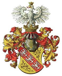 Arms of the House of Lorraine (Lothringen in German) the main and only remaining line of this House is the branch known as Habsburg-Lorraine (Habsburg-Lothringen) - one of the most important and was one of the longest-reigning royal houses in history