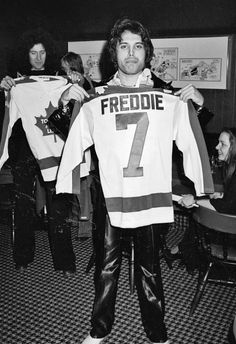 Queen in Canada ~ Freddie Mercury and Brian May                                                                                                                                                      More