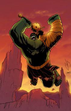 #Hulk #Fan #Art. (Planet Hulk) By:GustavoSantos01. (THE * 5 * STÅR * ÅWARD * OF: * AW YEAH, IT'S MAJOR ÅWESOMENESS!!!™)[THANK Ü 4 PINNING!!!<·><]<©>ÅÅÅ+(OB4E)