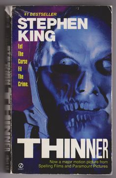 Stephen King Thinner Paperback (used