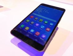 MWC 2014: Huawei MediaPad X1 video hands-on preview - tableta cu senzor foto de 13 megapixeli