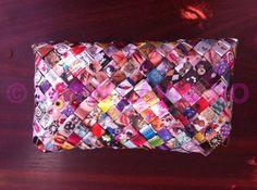 Geanta Eco Colorata clapa triunghi