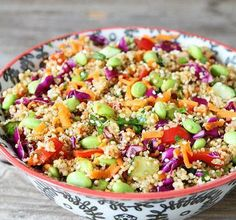 Vegan Quinoa Salad Recipes is One Of the Favorite Salad Recipes Of Several People Across the World. Besides Simple to Produce and Excellent Taste, This Vegan Quinoa Salad Recipes Also Health Indeed. Asian Quinoa Salad, Quinoa Salad Recipes, Summer Salad Recipes, Summer Salads, Vegetarian Recipes, Cooking Recipes, Healthy Recipes, Healthy Summer, Quinoa Recipe