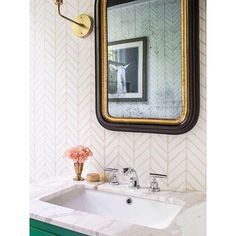 Shop the Feather Wallpaper and the rest of our designer Wallpaper at Serena and Lily. Small Bathroom Wallpaper, Bathroom Design Small, Yellow Bathroom Decor, Bathroom Ideas, Feather Wallpaper, Home Improvement Projects, Designer Wallpaper, Lily, Bathroom Accessories