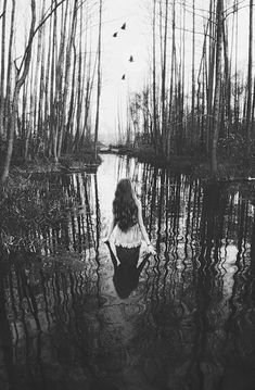 I'd walk through muddy water for someone I loved ... & if you KNEW how I felt about being in water I can't see in, you'd KNOW how much of a sacrifice that would be for me!