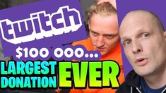 BIGGEST TWITCH DONATIONS Weird, Videos, Funny, Youtube, Ha Ha, Hilarious, Youtubers, Video Clip, Youtube Movies