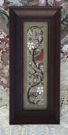 Apple Blossom Sampler from Drawn Thread Cross Stitch Sampler Patterns, Wedding Cross Stitch Patterns, Embroidery Sampler, Cross Stitch Alphabet, Cross Stitch Samplers, Cross Stitch Designs, Cross Stitching, Cross Stitch Embroidery, Drawn Thread