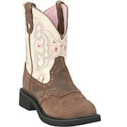 Justin® Ladies Gypsy™ Collection Boots Barnwood Brown w/ Cream~~I WANT!!!!
