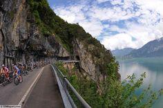 Tour de Suisse - stage 4 - Tim De Waele - Cycling: 77th Tour of Swiss 2013 / Stage 4 Illustration Illustratie / Peleton Peloton /