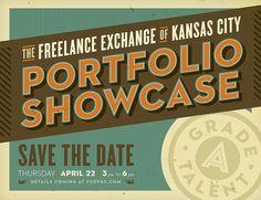 Portfolio Showcase Save The Date by Whiskey Design, via Flickr