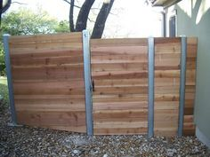 Staggering Tips: Fence Planters Pvc Pipes fence lighting nature.Old Fence Spring garden fencing fruit trees. Concrete Posts, Concrete Fence, Bamboo Fence, Metal Fence, Wood And Metal, Wood Fences, Horse Fence, Fence Art, Small Fence
