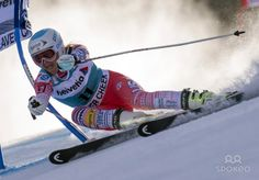 Julia Mancuso (USA) is in 28th place after the first of two runs during the women's giant slalom at the FIS alpine skiing World Cup at Beave...