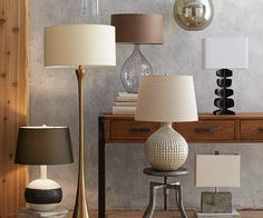Melrose lights up elongated mid-century curves with an updated matte brass base and a pert cream canvas drum shade. A line switch on the black cord turns the brass floor lamp on and off with ease. Brass Floor Lamp, Floor Lamps, Adjustable Floor Lamp, Modern Lighting Design, Room Lamp, Crate And Barrel, Pendant Lamp, Home Furniture, Flooring