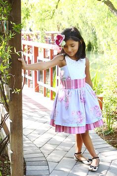 Loralie Dress Pattern by Violette Field Threads