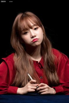 she a pouty baby :( Photo P, Japanese Girl Group, Fandom, Kim Min, Pledis Entertainment, Best Face Products, Korean Singer, Girl Crushes, Kpop Girls