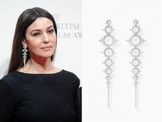 Monica Bellucci, 2015, Azzedine Alaia, gioiello Boucheron