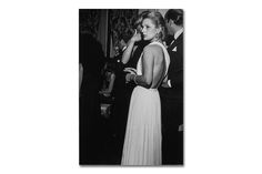 """""""This photograph was taken by Bill Cunningham at a private ball that Henry B. Platt used to give at the St. Regis Hotel in New York every year. It is one of my favorite photographs that Bill has taken of me. Bill has always had that genius eye—the eye that catches the subject at the right moment."""" - Carolina Herrera"""