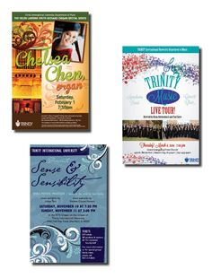 Trinity International University - Department of Music, poster series