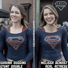 Okay.. its hard enough to find a look-alike but a stunt double too? Melissa lucked out - - Follow @CWSGOfficial for more! Turn on Post Notifications - - #Supergirl #SupergirlCW #cw #kara #zorel #karazorel #danvers #karadanvers #melissabenoist #alexdanvers #kalel #superman #dctv #dceu #legionofsuperheroes #valor #monel #karamel #clarkkent #supervalor #saturngirl #sanvers #makeitreign #brainiac5 #superflash #crisisonearthx #supercorp #cwsupergirlofficial #cwsgofficial #LaurelLance [FC: 437]