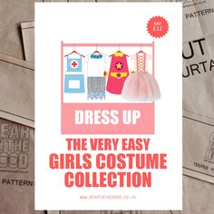 Girls Dress Up Collection sewing pattern