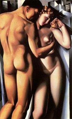 Tamara de Lempicka (1898 - 1980) - 'Adam and Eve', 1932