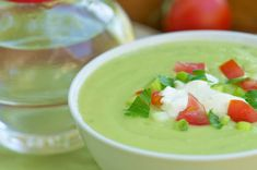 Chilled Avocado Soup Recipe from The Oaks at Ojai ~