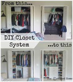 Exceptionnel DIY Closet System
