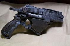 Steampunk Nerf Proton - Copper and Silver - Pirate Post Apocalypse Victorian - via Etsy