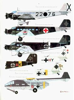 S08 Luftwaffe Colour & Markings 1935-1945 Vol. 2 Page 33-960
