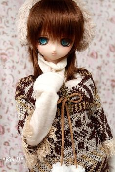 PF BJD Dollfie Pupil Pupil Outfits With 16mm Gray Snow Glass Eyes