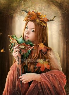 Autumn Queen by *FrozenStarRo on deviantART