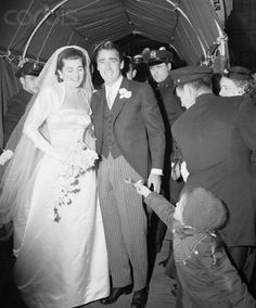 1954 Wedding of Patricia Kennedy and Peter Lawford