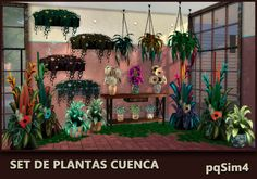 Sims 4 CC's - The Best: Plants by pqSim4