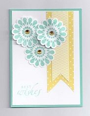 card made with Stampin up In Colour collection, and Polka-Dot Pieces Stamp set