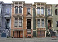 Mission district, San Francisco by Dizzy Atmosphere, via Flickr