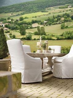 LEE INDUSTRIES Dining Outdoors - OMG!!!!!!!!!  These can stay outside in all weather! Really!