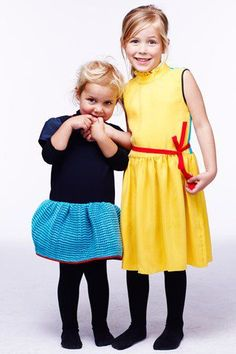 These dresses are adorable.