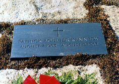 Patrick Bouvier Kennedy (1963 - 1963) - John and Jackie's son