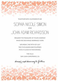 This printout includes invitation, save the date, menu, rsvp, place cards, table number, thank you and love sign all customized for FREE!!!
