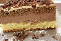 Hungarian Desserts, Romanian Desserts, Romanian Food, Baking Recipes, Cake Recipes, Dessert Recipes, No Cook Desserts, Just Desserts, Torte Cake