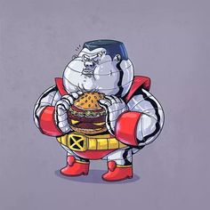 """Chunky Colossus"" - X-Men 