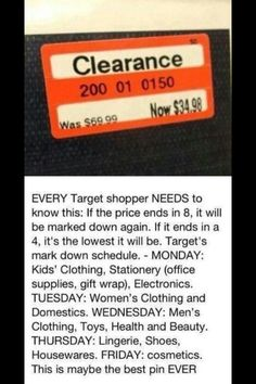 As a target employee and shopper I find it helpful to pass this info onto you guys - Imgur