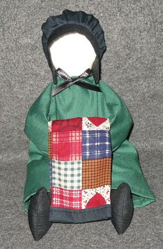 Amish Doll sitting and holding a Quilt.Hand by CharsPlainandFancy, $22.00
