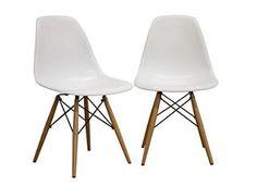 Fancierstudio Mid Century Modern Designer Chair Plastic Chair Side Chair Dinning…