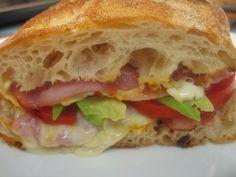 deli style sandwhich
