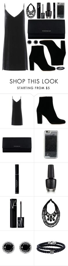 """All Black Everything 🌑🌑🌑"" by iris913 ❤ liked on Polyvore featuring rag & bone, Givenchy, LMNT, Christian Dior, NARS Cosmetics, Tory Burch, Thomas Sabo, Phillip Gavriel and allblack"