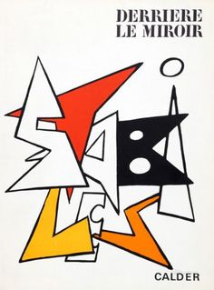 Stabiles I (Cover) from Derriere Le Miroir Collectable Print by Alexander Calder at AllPosters.com