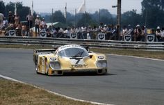 Porsche at Le Mans 1982 to 1987 - History, Photos, Profile